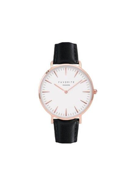 Fashion Favorite Vitória Matt Black Horloge