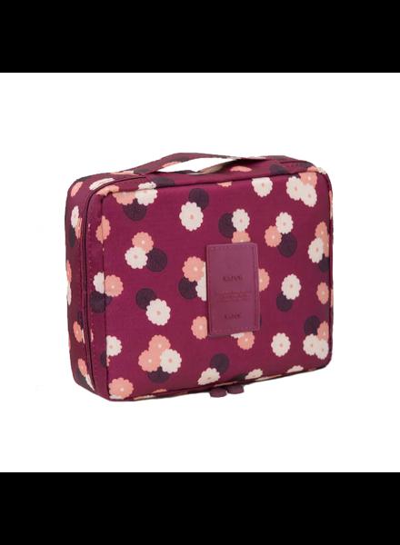 Fashion Favorite Travel 'Red Flower' Toilettas