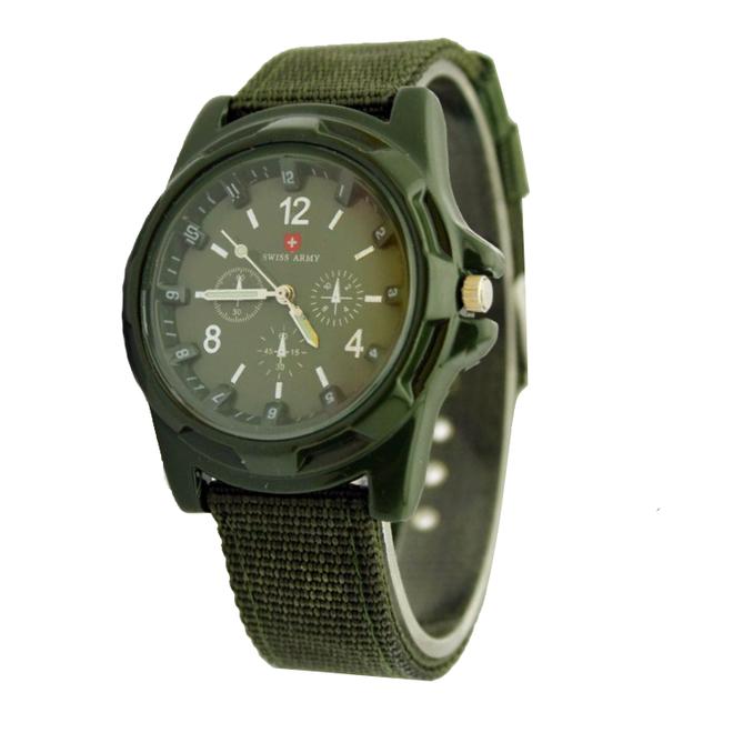 Swiss Army Horloge Groen