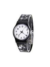 Fashion Favorite Star Kinderhorloge Zwart