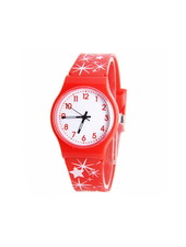 Fashion Favorite Star Kinderhorloge Rood