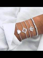 Fashion Favorite Set Armbanden Symbol