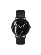 Fashion Favorite Zamora Marble Black Horloge