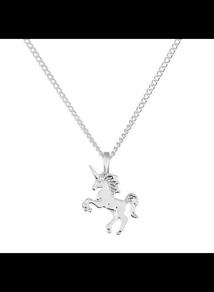 Fashion Favorite Magical Unicorn Ketting - Zilverkleurig