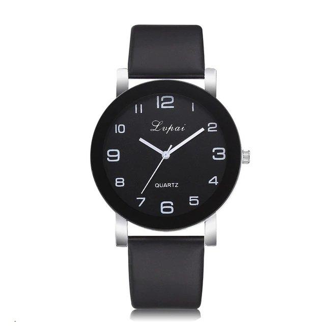 LVPAI Quartz Horloge | Zwart & Zwart