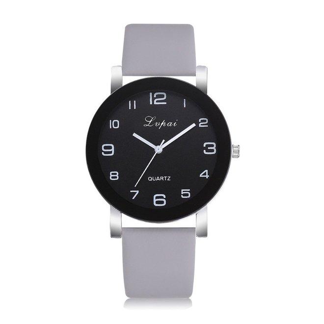 LVPAI Quartz Horloge | Grijs & Zwart