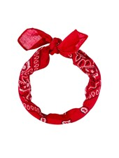 Fashion Favorite Vintage Bandana / Zakdoek Rood
