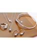 Fashion Favorite Jewelry Silver Waterdrop/Druppel Set 4-delig | 925 Zilver |