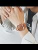 Fashion Favorite Harley Rosivga Square Horloge | Bruin - Bruin | Vierkant | Kunstleer | Ø 35 mm