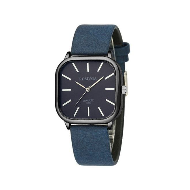 Harley Rosivga Square Horloge   Blauw - Blauw