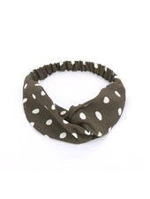 Fashion Favorite Haarband Stippen Grijs