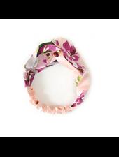 Fashion Favorite Haarband Satijn - Roze Bloemen