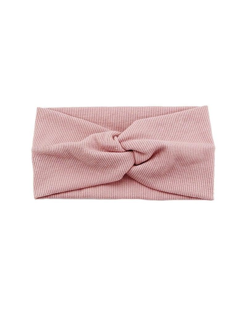 Fashion Favorite Haarband Roze   Bandana   Katoen   Elastisch