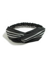 Fashion Favorite Haarband Print | Aztec Zwart - Wit