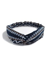 Fashion Favorite Haarband Print | Aztec Blauw - Bruin - Wit