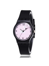 Fashion Favorite Flamingo Kinderhorloge Zwart