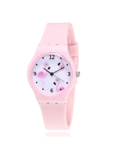 Fashion Favorite Flamingo Kinderhorloge Roze
