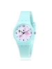 Fashion Favorite Flamingo Kinderhorloge Mintgroen | Kunststof/Plastic