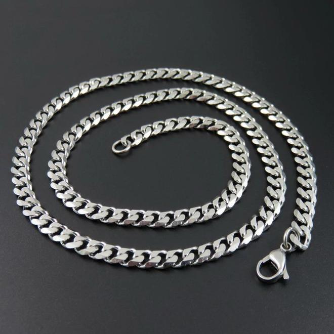 RVS Schakelketting | 7,5 mm / 55 cm | 316 L Stainless Steel