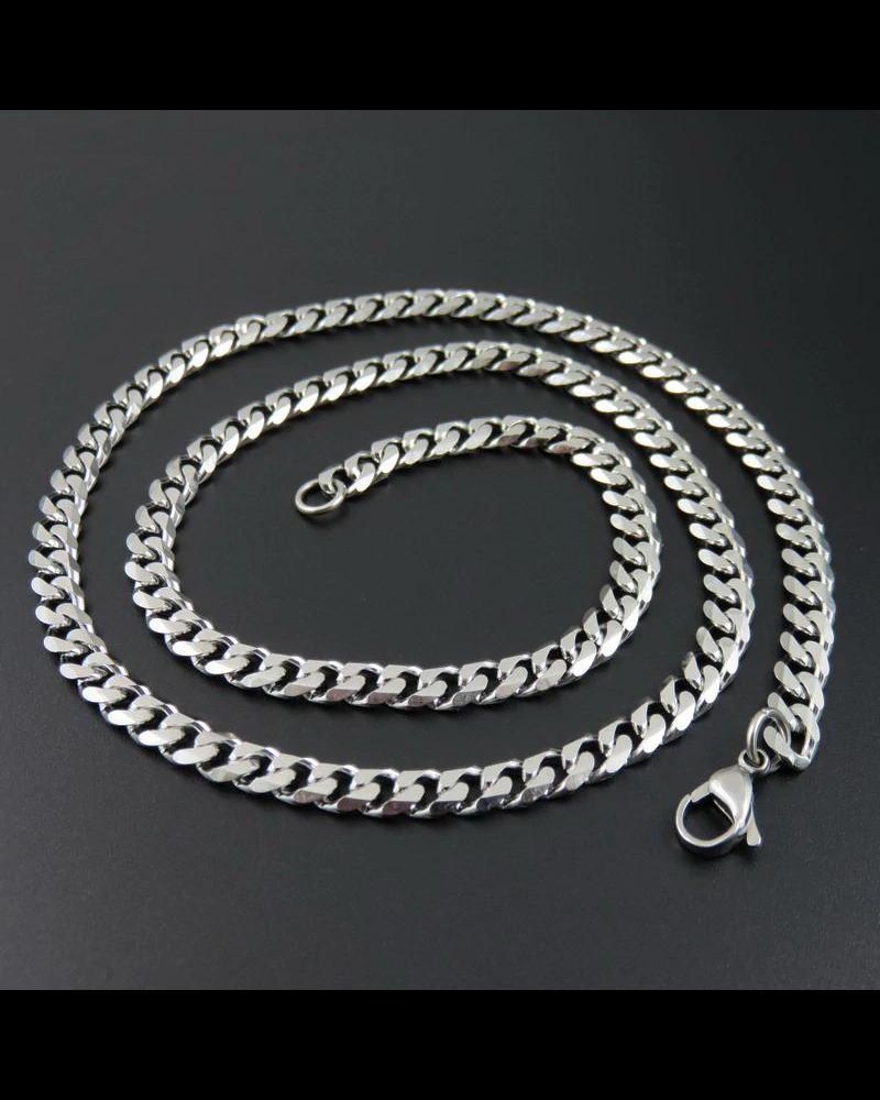 Fashion Favorite RVS Schakelketting | 7,5 mm / 55 cm | 316 L Stainless Steel