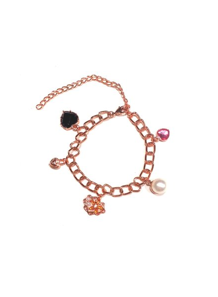 Fashion Favorite Sempre London Armband - Staal Rosékleurig