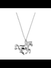 Fashion Favorite Paard Ketting - Zilverkleurig