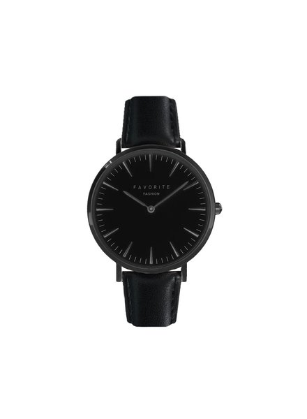 Favorite Fashion Vitória Full Black Horloge