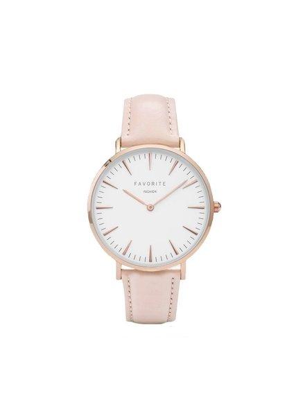 Favorite Fashion Vitória Gold Pink 2.0 Horloge