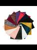 Fashion Favorite Velvet Colsjaal - Oranje/Bruin | Fluweel/Polyester