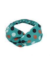 Fashion Favorite Haarband Print | Stip Groen