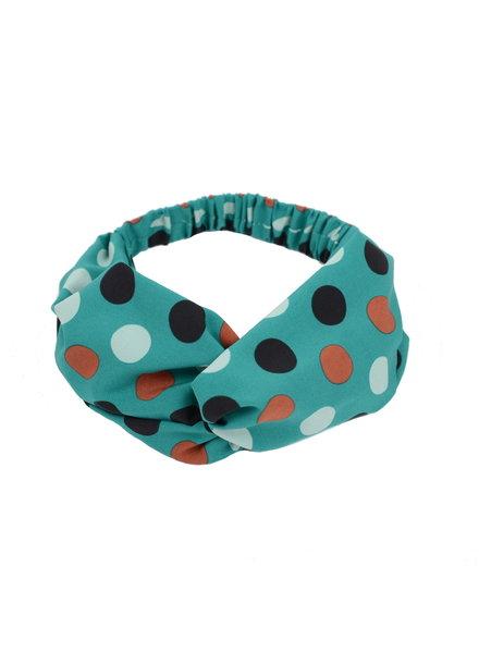 Fashion Favorite Haarband Print | Stip Groen