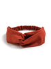 Fashion Favorite Suede Cross Haarband Rust | Roest | Velvet Suède | Fashion Favorite - Copy