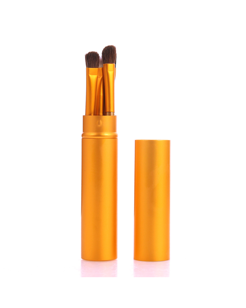 Fashion Favorite 5-delige Make-up Kwasten Set - Oranje
