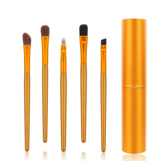 5-delige Make-up Kwasten Set - Oranje