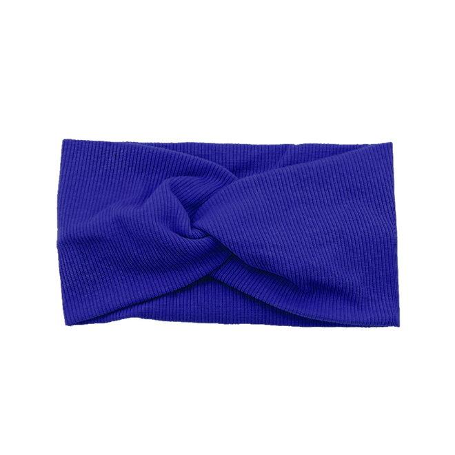 Haarband Blauw | Bandana | Katoen | Elastisch - Copy - Copy