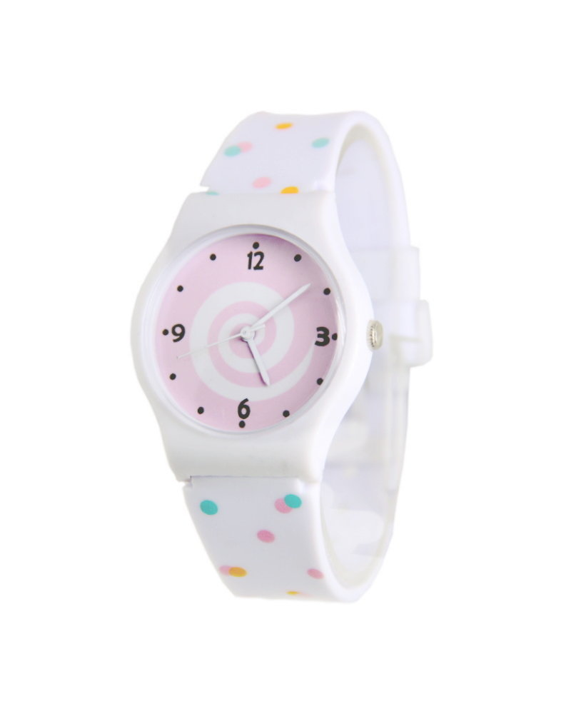 Fashion Favorite Fun Kinderhorloge Roze | Confetti | Kunststof/Plastic | Fashion Favorite