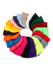 Fashion Favorite Beanie Muts Uni Grijs | Polyacryl | One Size | Fashion Favorite
