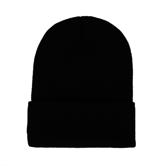 Beanie Muts Uni Zwart | Polyacryl | One Size | Fashion Favorite