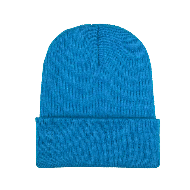 Beanie Muts Uni Blauw | Polyacryl | One Size | Fashion Favorite