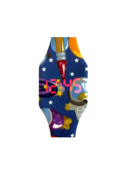 Fashion Favorite LED Digitaal Kinderhorloge Raket