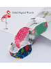 Fashion Favorite LED Digitaal Kinderhorloge   Luipaard / Leopard   Kids   Fashion Favorite