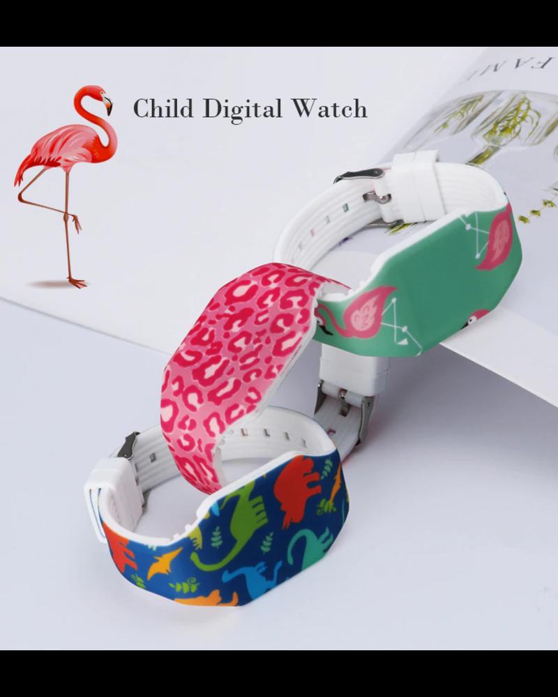 Fashion Favorite LED Digitaal Kinderhorloge | Raket / Space | Kids | Fashion Favorite