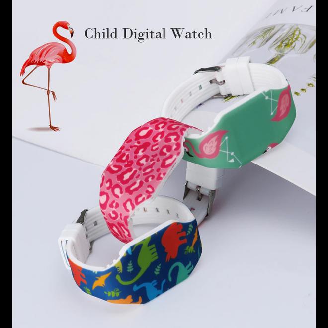 LED Digitaal Kinderhorloge | Dinosaurus | Kids | Fashion Favorite