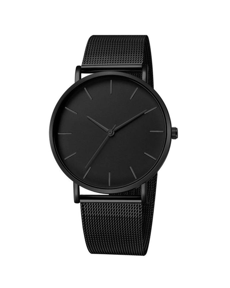 Fashion Favorite Maxx Mesh Zwart / Zwart Horloge | Staal | Ø 40 mm