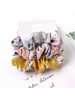 Fashion Favorite Haarelastiek Bloemen | Mix 3 stuks | Scrunchie / Haarwokkel | Fashion Favorite