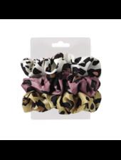 Fashion Favorite Haarelastiek / Scrunchie Leopard / Panter
