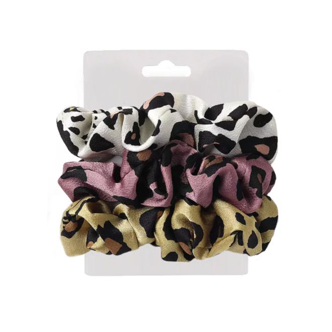 Haarelastiek / Scrunchie Leopard / Panter