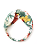 Fashion Favorite Haarband White Flowers | Bloemen | Elastische Bandana | Fashion Favorite