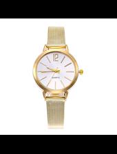 Fashion Favorite Blanche Gold / White Horloge