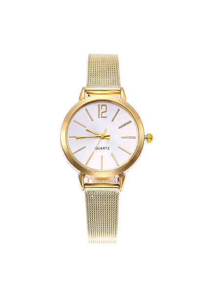 Fashion Favorite Blanche Gold / White Horloge